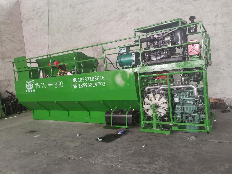 利用客土喷播机进行矿山生态恢复的要求